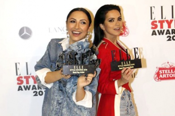 Dress code Denim la petrecerea Elle Style Awards