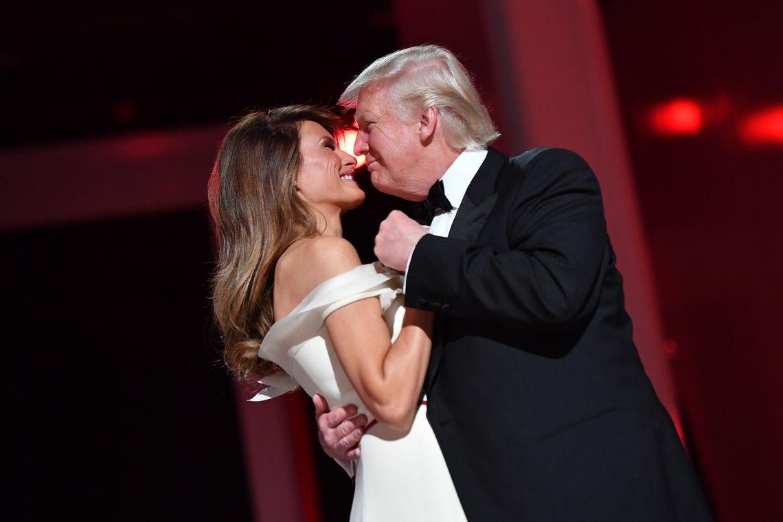 Melania Trump la balul de inaugurare