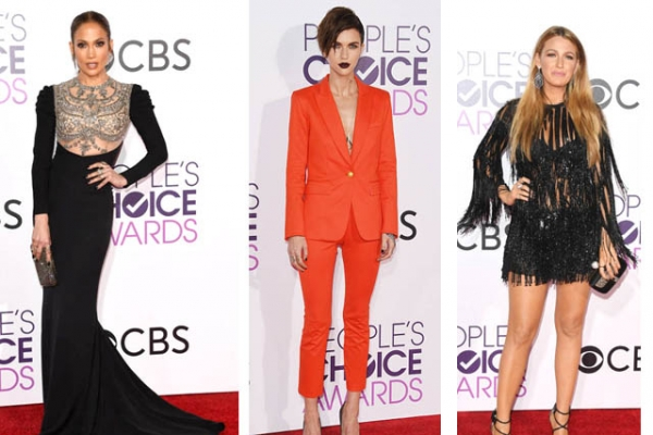 Outfituri memorabile la People's Choice Awards 2017