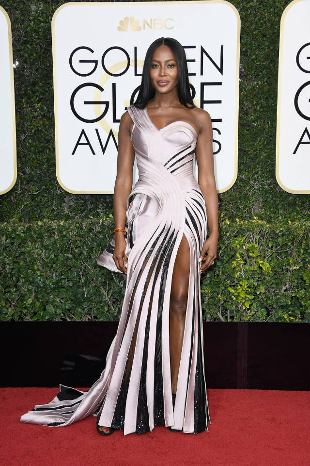 naomi-campbell in Atelier Versace