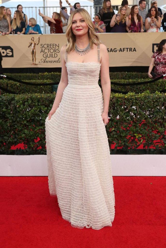 Kristen Dunt - rochie Dior