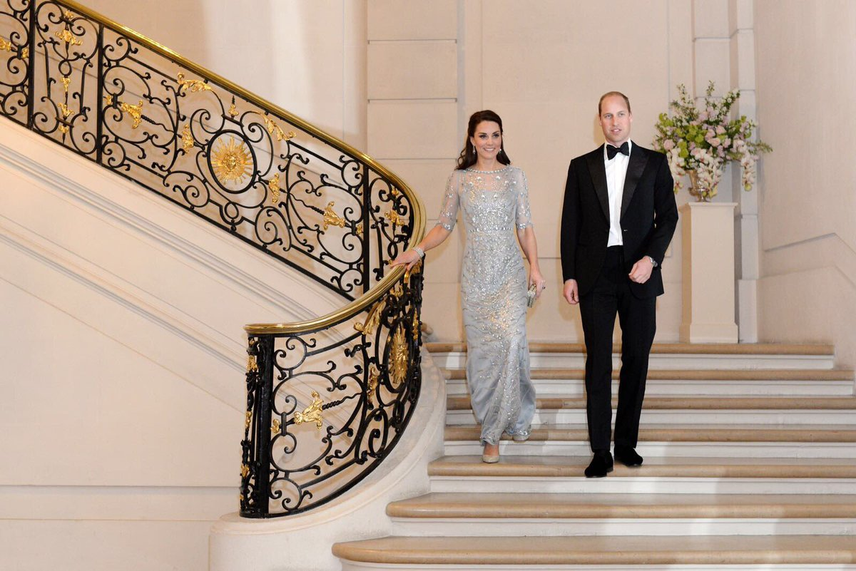 Kate și William pe tărâm francez