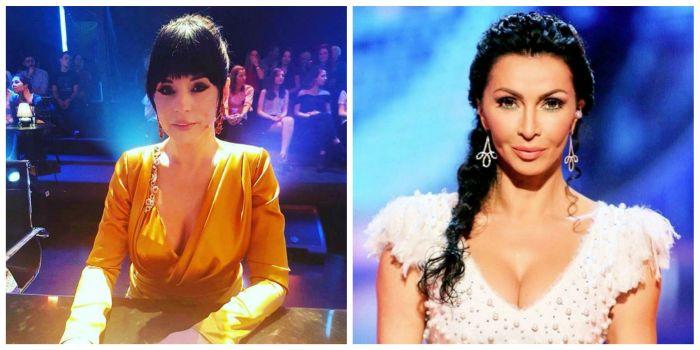 Andreea Marin look sexy spre deosebire de Mihaela Rădulescu look romantic