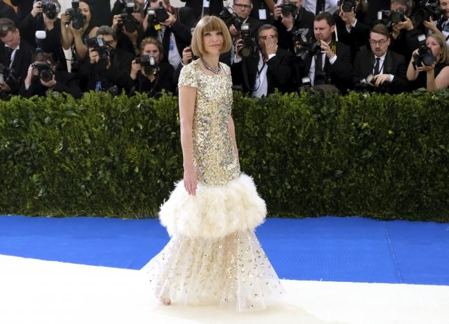 Anna Wintour rochie Chanel