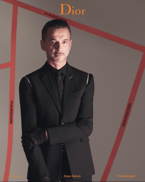 Dave Gahan – noua imagine Dior