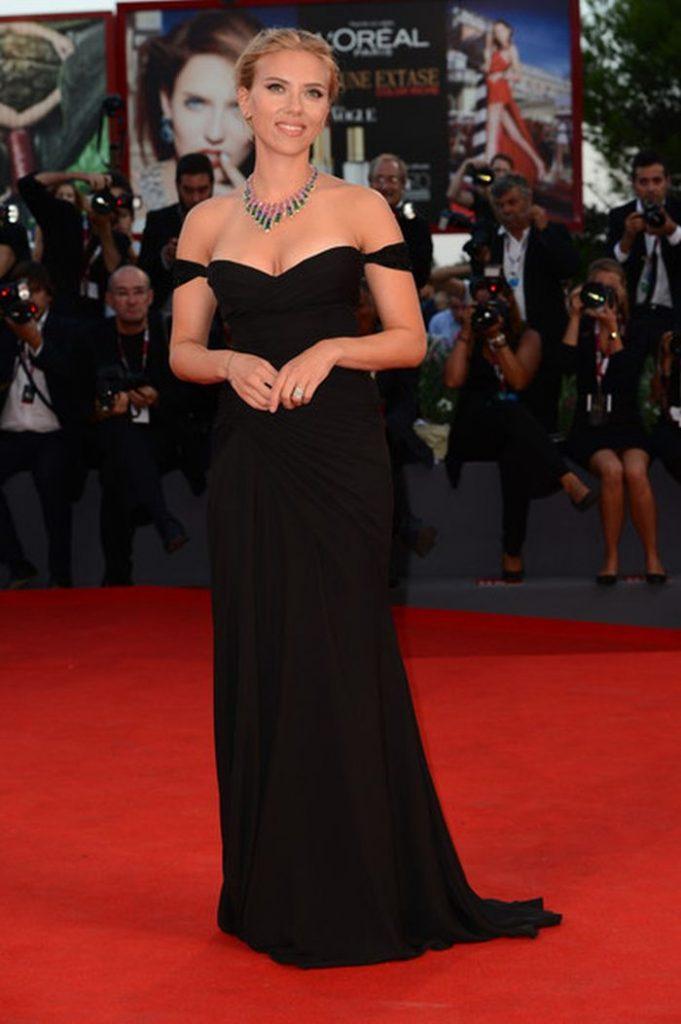 Scarlet Johannson la festivalul De Film de la Venetia