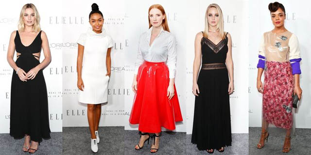 Diverse stiluri vestimentare la ELLE's Women in Hollywood Awards