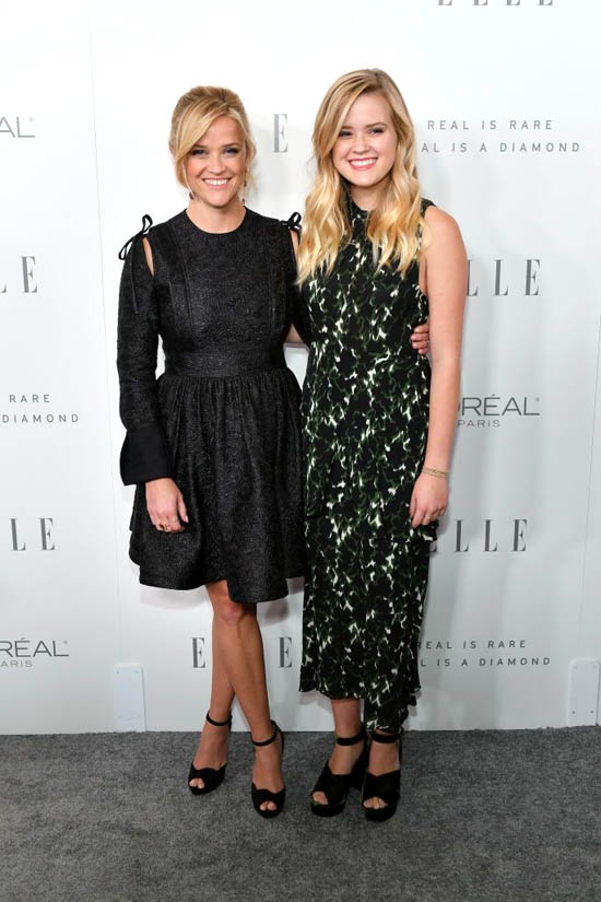 Reese Witherspoon si fiica ei, Ava Phillippe, in Calvin Klein
