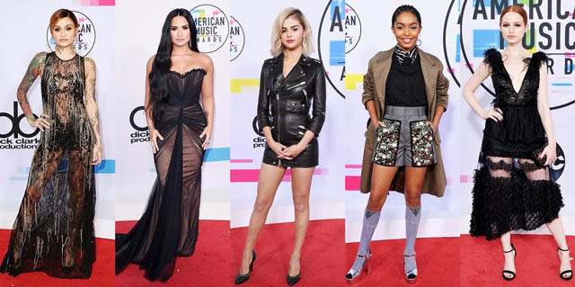 Red Carpet American Music Awards 2017