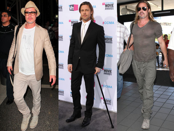 Brad Pitt a împlinit astăzi,54 de ani!