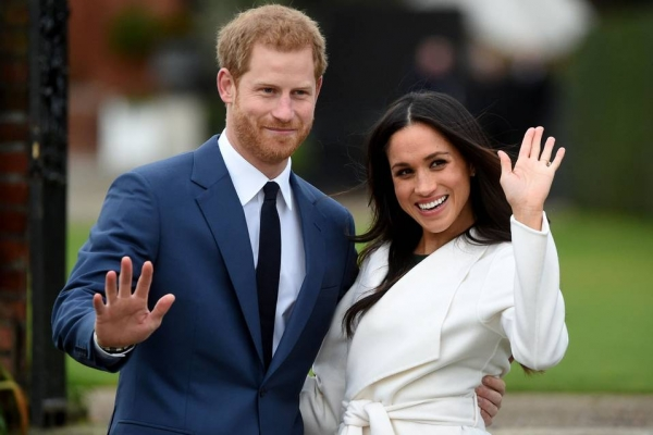 Meghan Markle  a intrat in Familia Regala