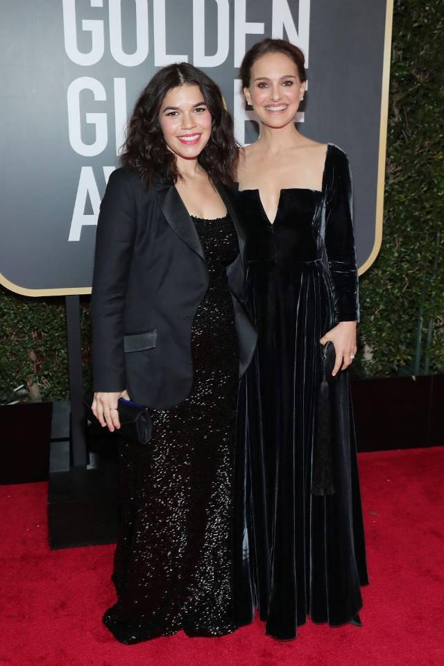 America Ferrara si Natalie Portman