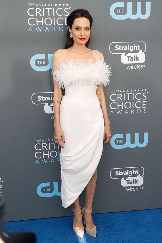 Angelina Jolie rochie Ralph&Russo