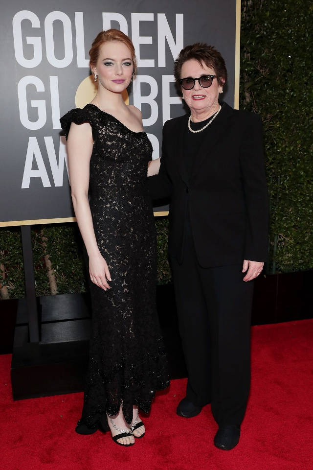 Emma Stone si Billie Jean King