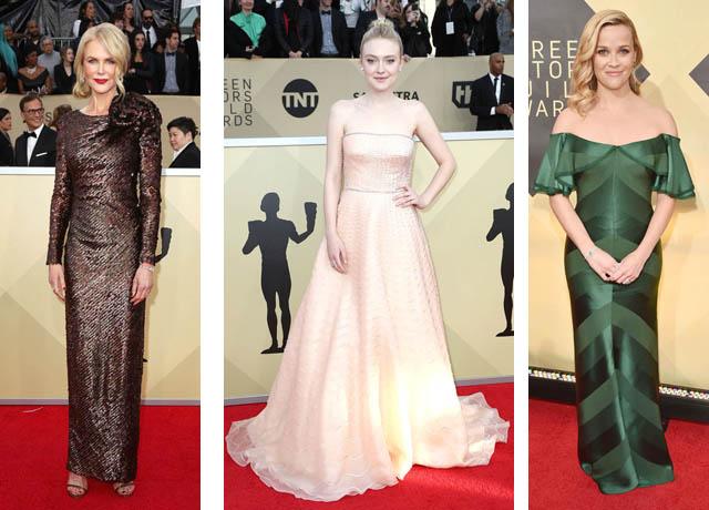 Nicole Kidman, Dakota Fanning, Reese Witherspoon