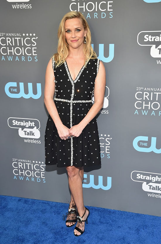 Reese Witherspoon rochie Prada