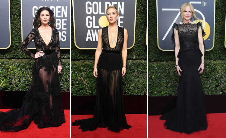 Parada de rochii negre la Golden Globes 2018