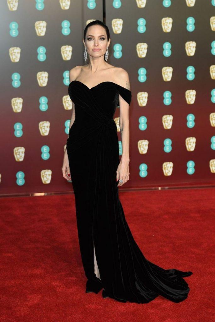 Angelina Jolie in rochie Ralph & Russo