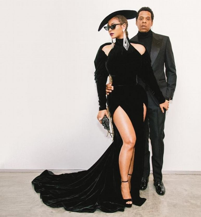 Beyonce rochie Nicolas Jebran and Jay Z
