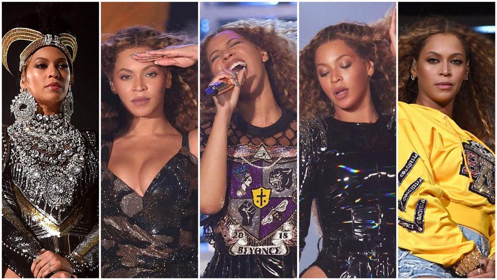 Diva Beyonce show incendiar la renumitul festival Coachella