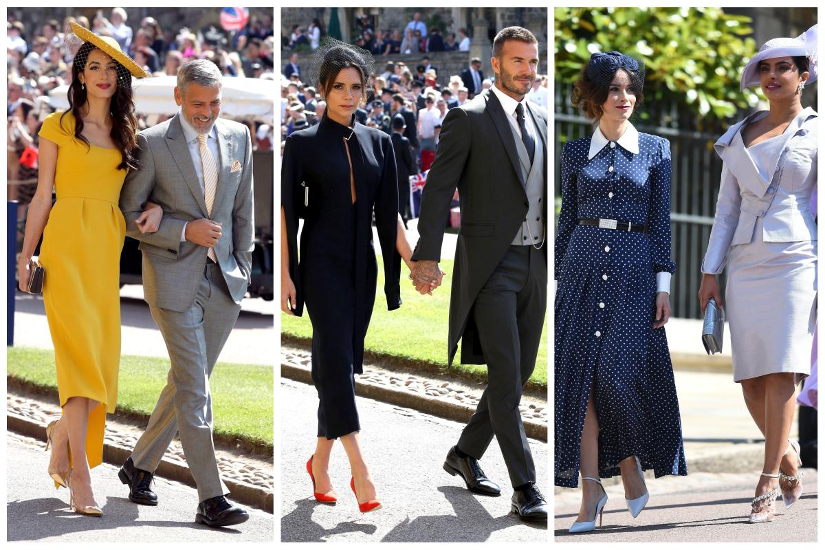 Ținute spectaculoase la nunta regală a prințului Harry cu Meghan Markle