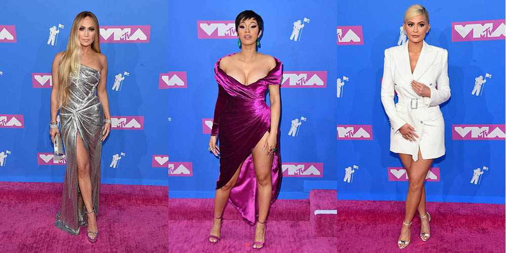 Ce au purtat vedetele pe Red Carpet MTV Video Music Awards 2018