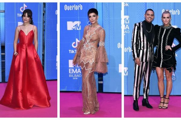 MTV EMA 2018 – covorul rosu