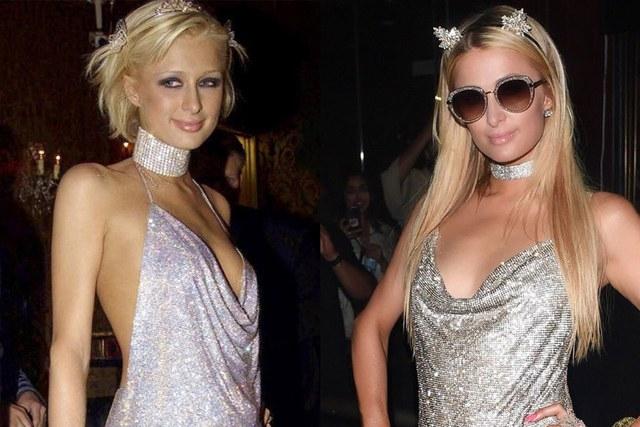 Paris Hilton a fost in centrul atentiei la o petrecere in Miami