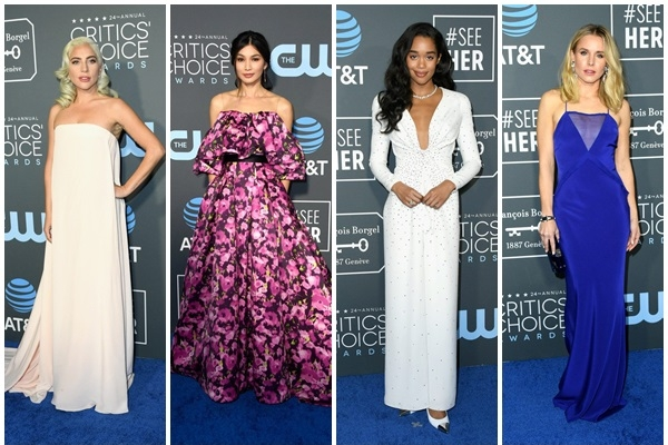 Cel mai bine imbracate vedete la Critics' Choice Awards 2019!