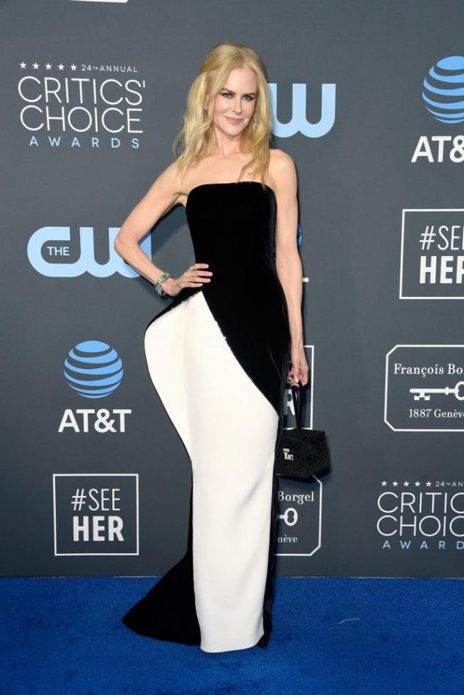 Nicole Kidman intr-o rochie Armani Privé