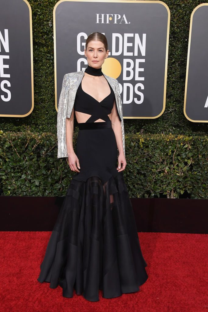 Rosamund Pike in Givenchy Haute Couture