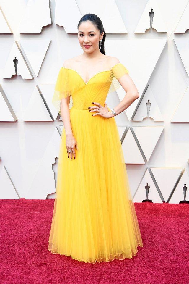 Constance Wu in Atelier Versace