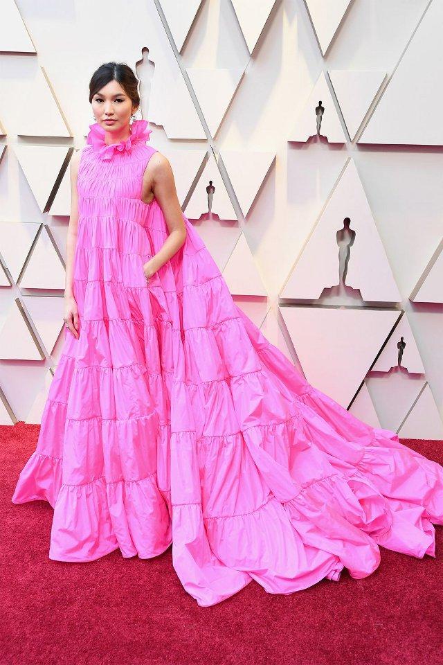 Gemma Chan in Valentino Couture