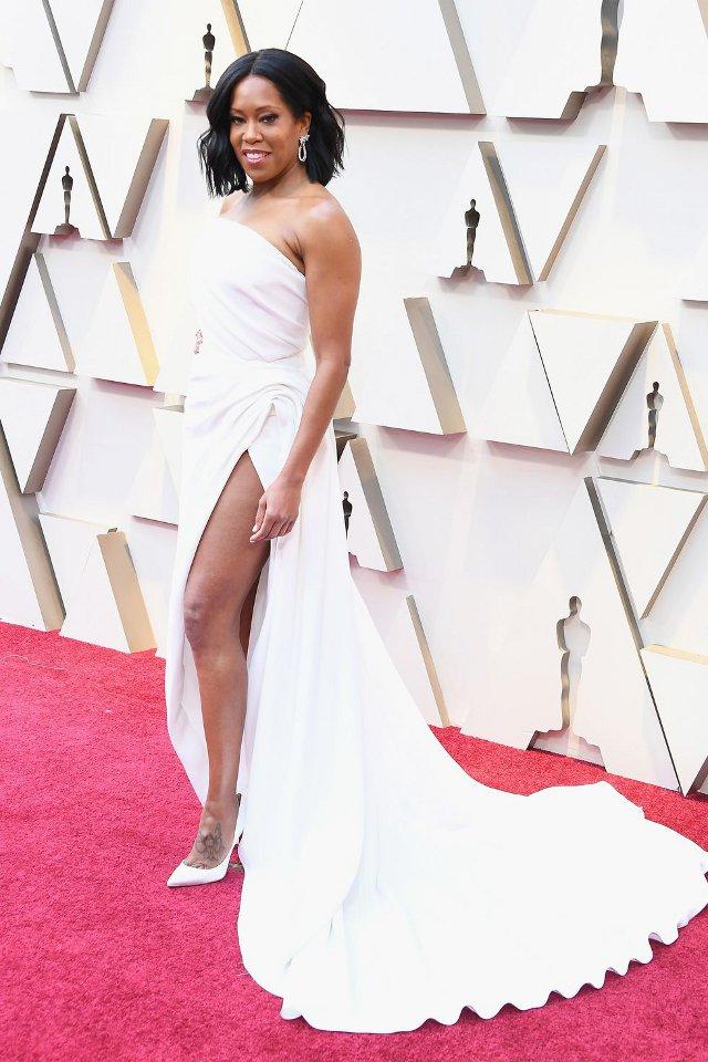 Regina King in Oscar de la Renta