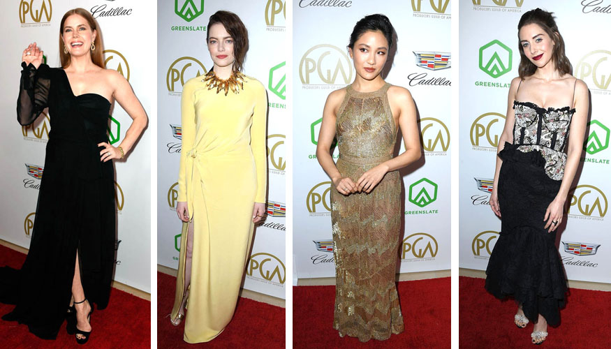 Red Carpet la Producers Guild Awards 2019