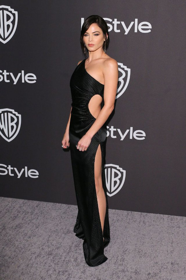 Jenna Dewan (rochie Azzaro, Golden Globes After-Party)