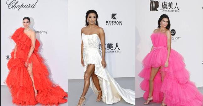 Cum s-au imbracat vedetele la amfAR Gala de la Cannes