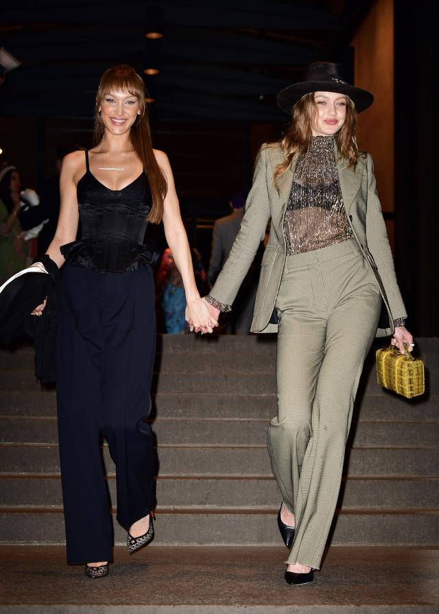 Gigi si Bella Hadid