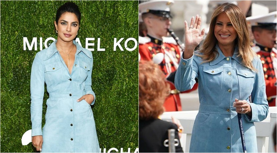 MELANIA TRUMP VS. PRIYANKA CHOPRA