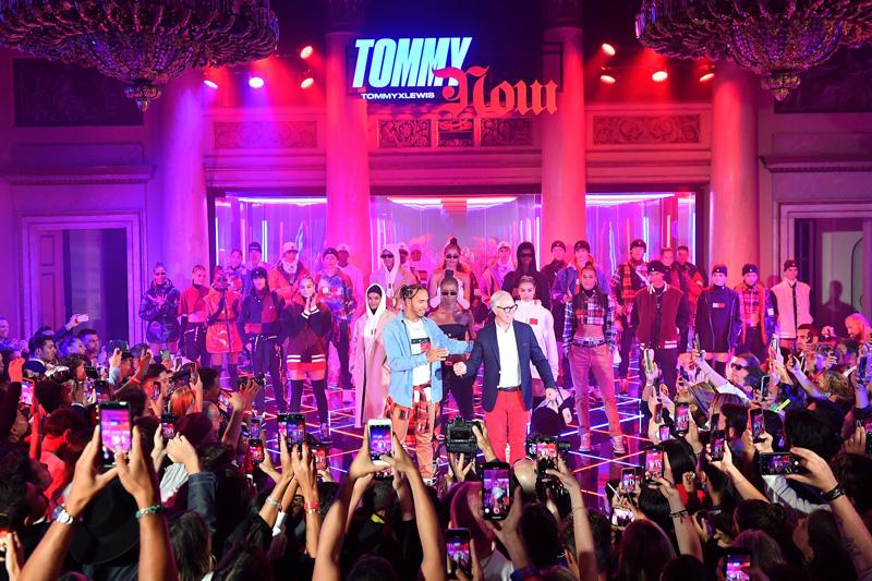 Colectia TommyXLewis Toamna 2019  la Milan Fashion Week