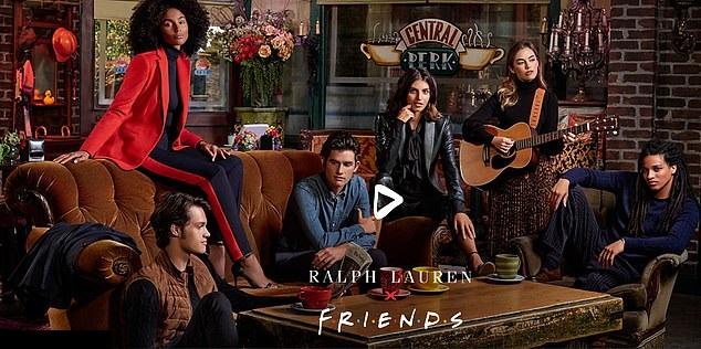"""Ralph Lauren a lansat o colecţie de haine inspirată din serialul """"Friends"""""""