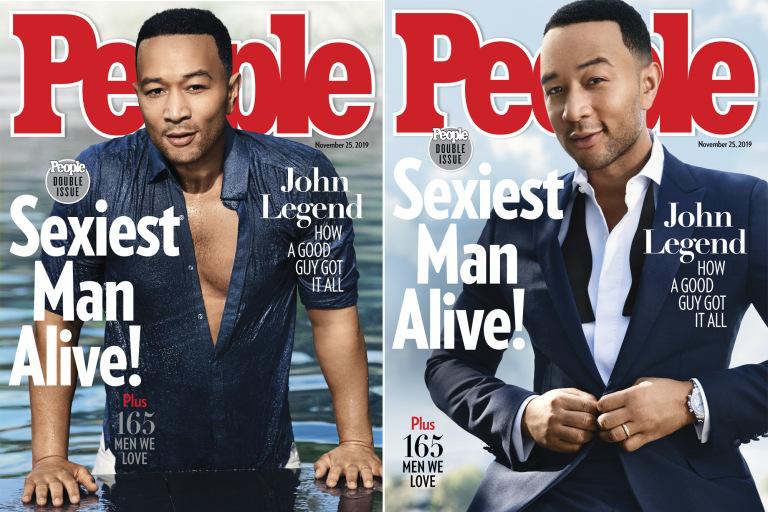 John Legend cel mai sexy barbat al anului 2019
