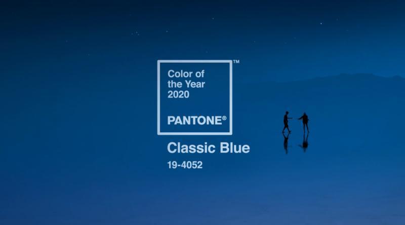 Culoarea anului 2020 – albastru clasic