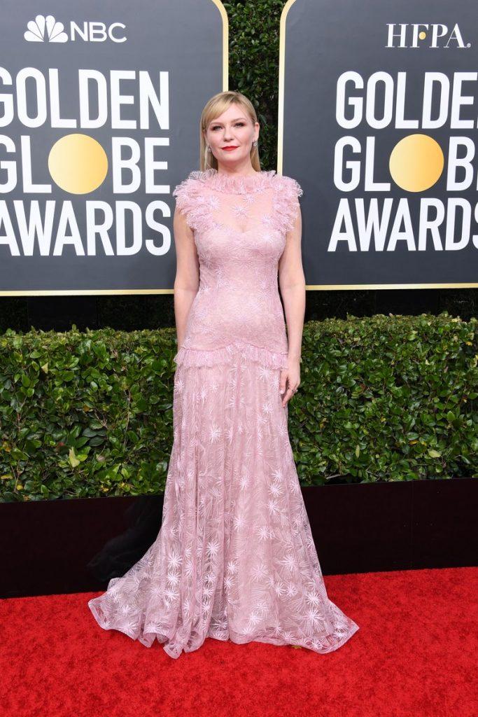 Kirsten Dunst (rochie Rodarte si bijuterii Fred Leighton)