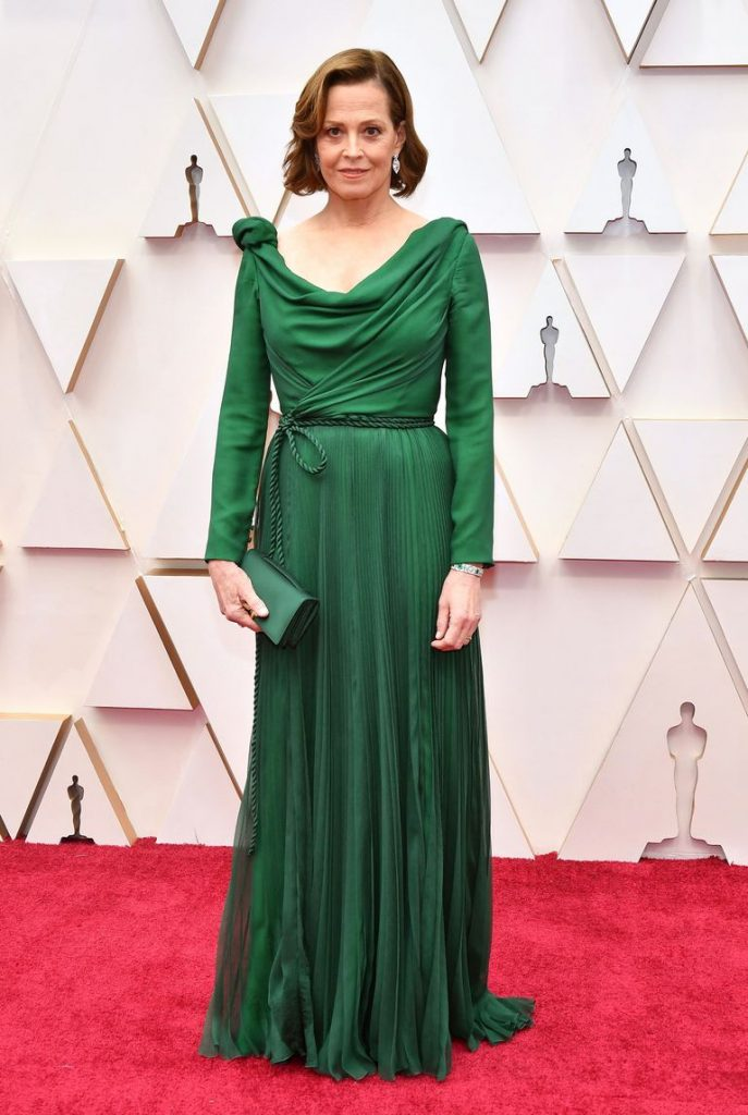 Sigourney Weaver in Christian Dior Haute Couture