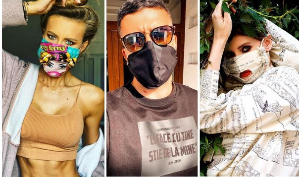 Ce masti poarta vedetele din Romania